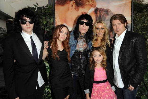 Billy Ray Cyrus Family