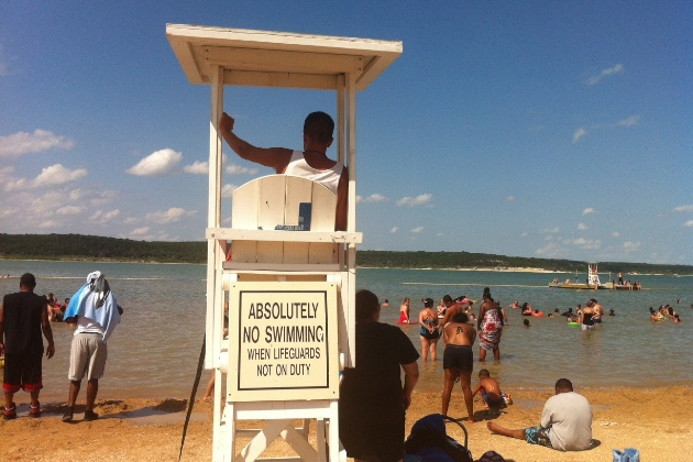 Waterfest 2013 at belton lake outdoor recreation area